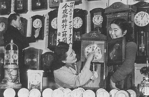 日本でのサマータイム