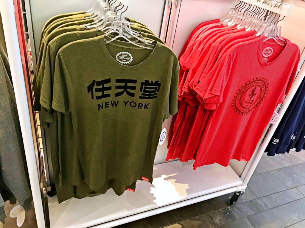任天堂Tシャツ