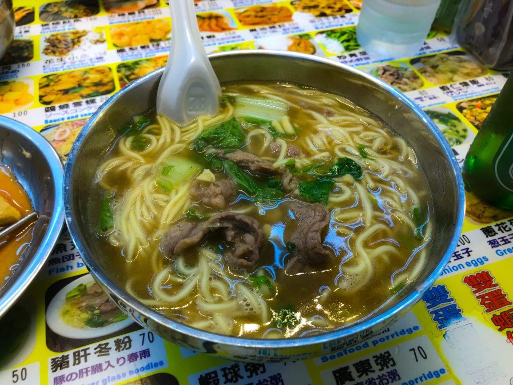 本場のラーメン牛肉麺