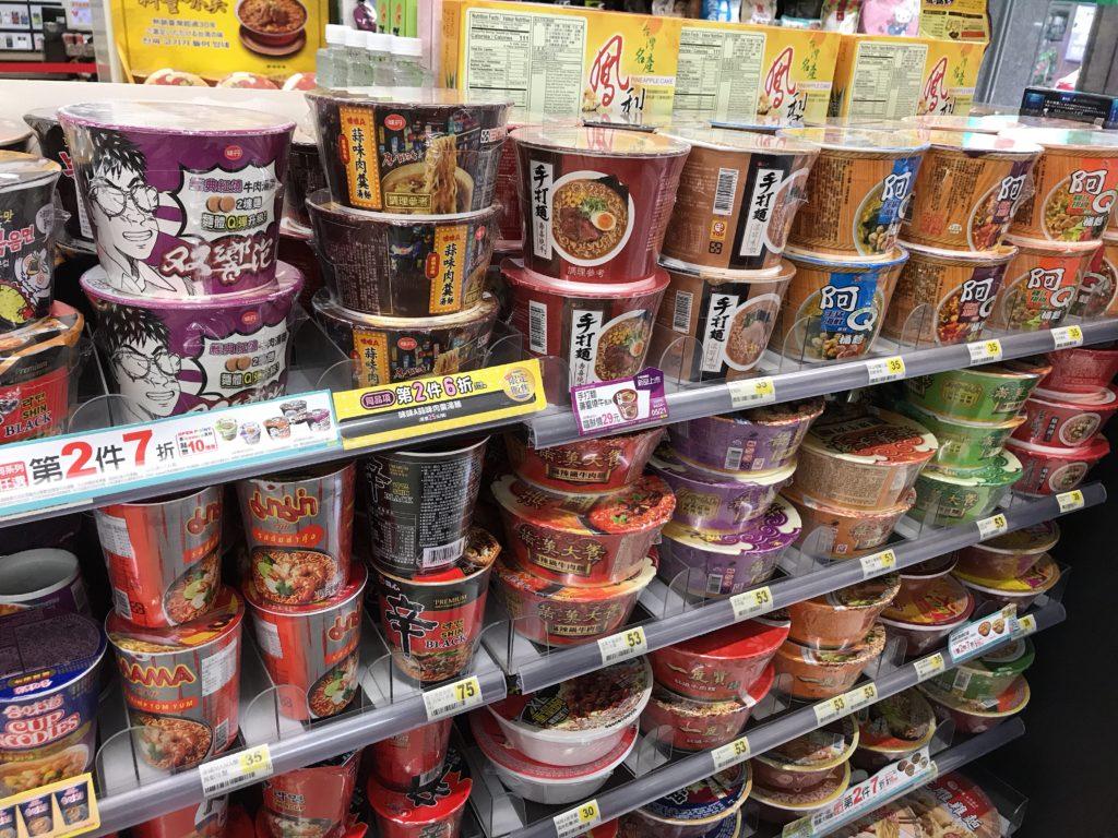 台湾カップラーメン