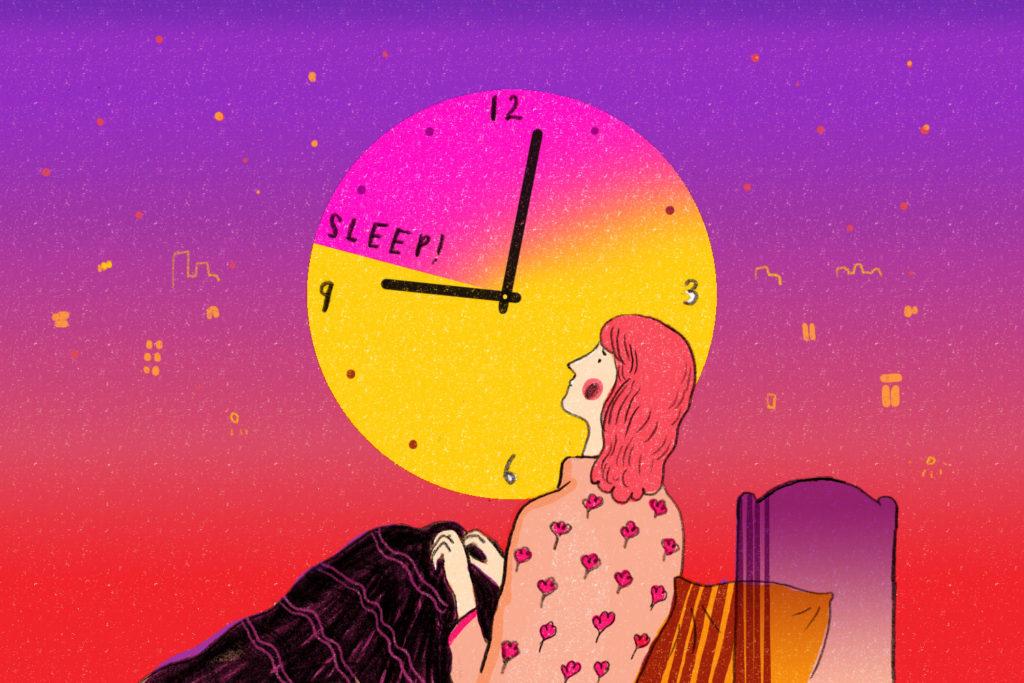 何時間眠るのが適した睡眠時間なの?